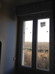 La vue de l'étage ... On se croirait sur un rez de chaussée :)